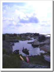 Huvudskär, rowing boat, Sweden