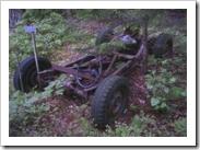 old car, söderviken, ornö, stockholm archipelago, sweden