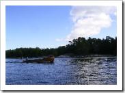 wooden boat, söderviken, stockholm archipelago, sweden