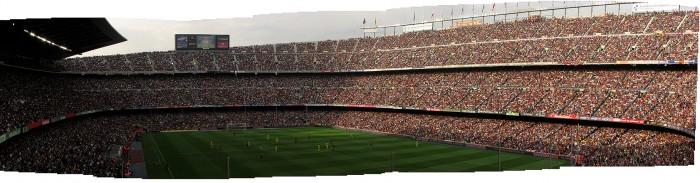 Camp Nou, FC Barcelona - Villareal