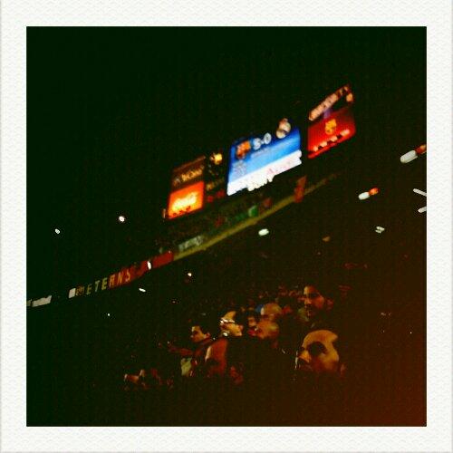 scoreboard - fc barcelona 5 - real madrid 0