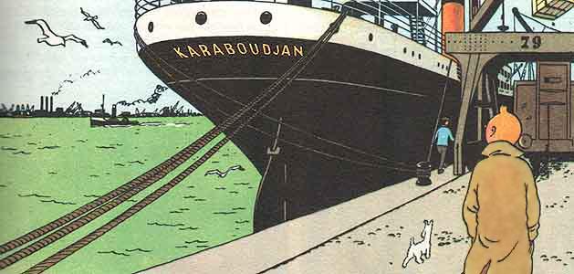 Tintin - Karaboudjan - Tenten