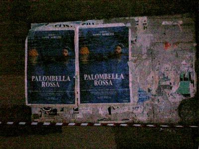 Palombella Rossa poster, (Nanni Moretti film), water polo
