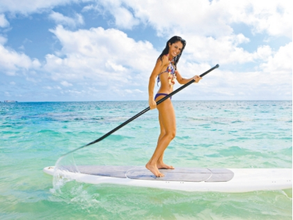 Stand up paddle board surf