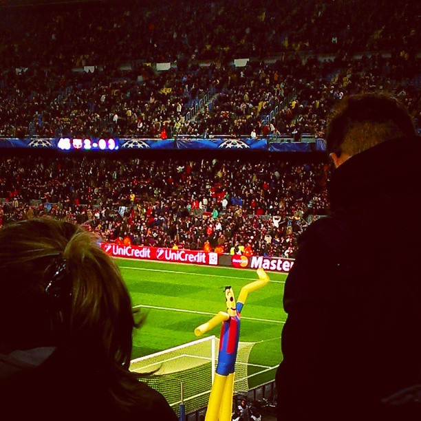 45 / 2-0 #fcbarcelona #acmilan (photo)