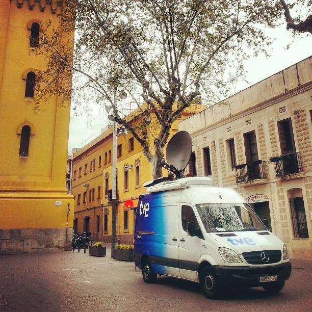 Sin duda la plaza más mediática de la ciudad... #barcelona #lescorts #bcn :) (photo)