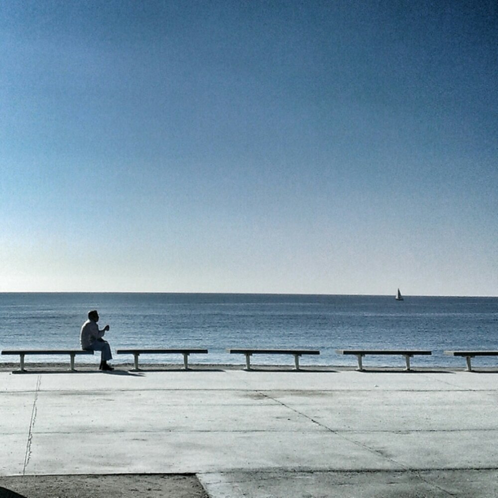 Reflexions vora la mar, Barcelona, Bogatell