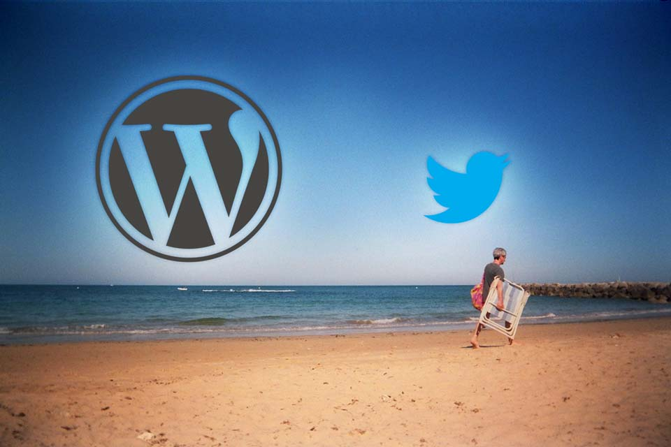 Wordpress encoding content for Twitter intent
