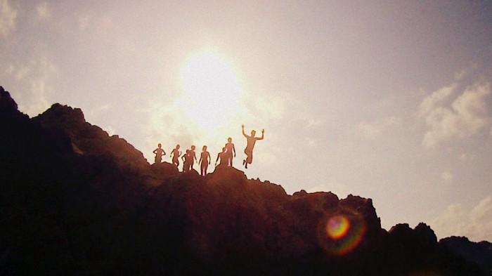 Menorca cliff divers