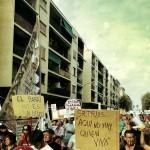 Aquí no hay quien viva… Barceloneta, manifestación 30/8/2014