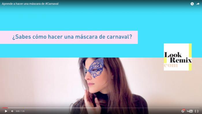 Carnaval - mascara - Lookremix